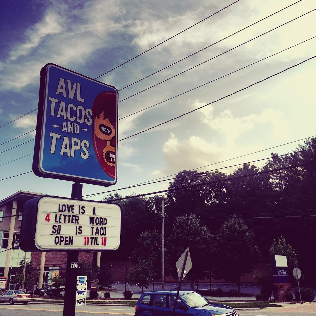 Asheville Restaurants - AVL Tacos & Taps - Original Photo