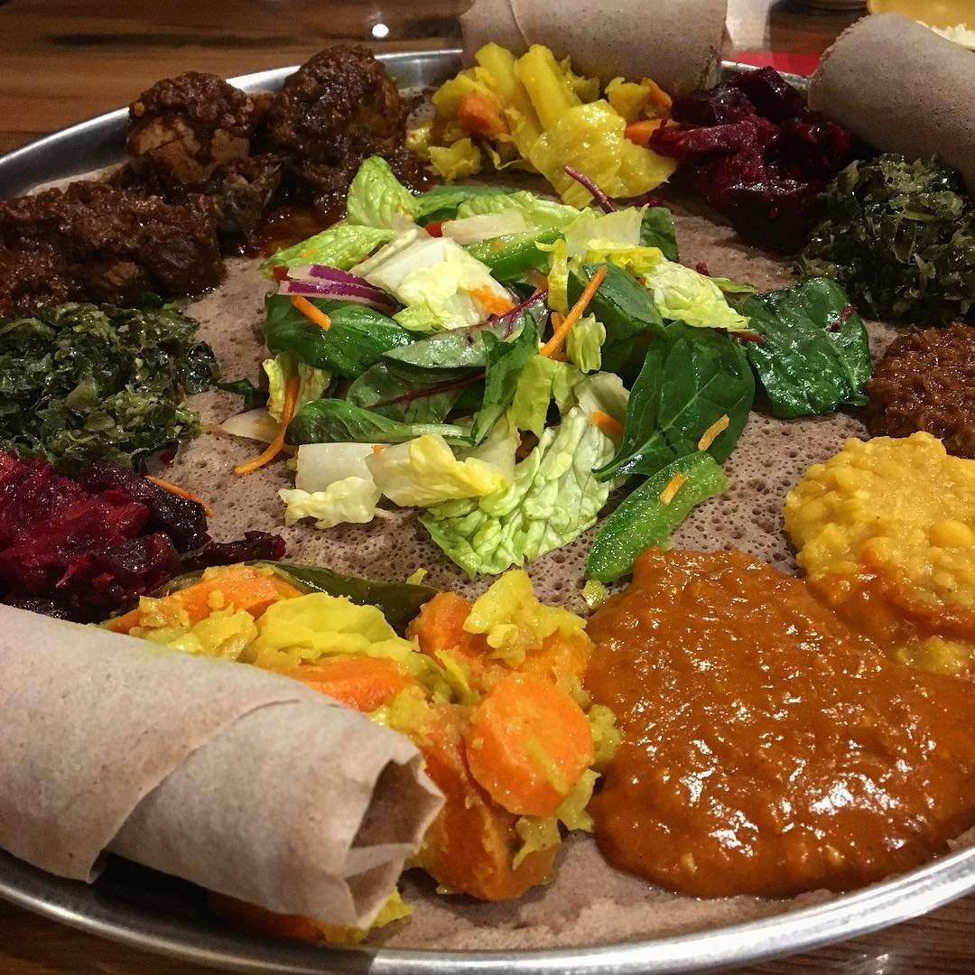 Asheville Restaurants - Addissae Ethiopian Restaurant - Original Photo