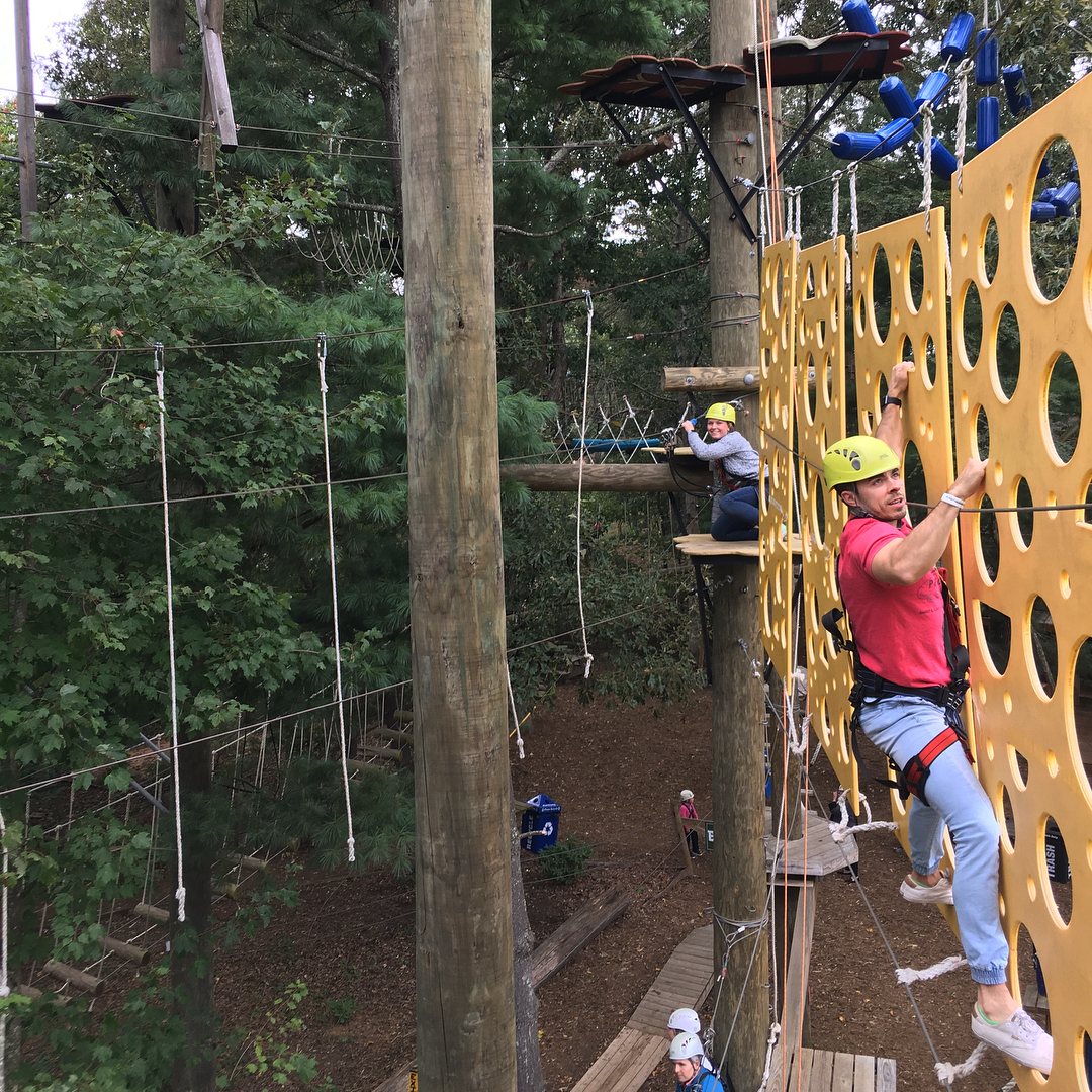 Asheville Things To Do - Asheville Treetops Adventure Center - Original Photo