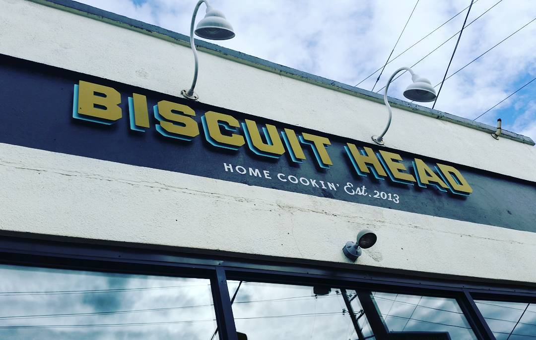 Asheville Restaurants - Biscuit Head - Original Photo