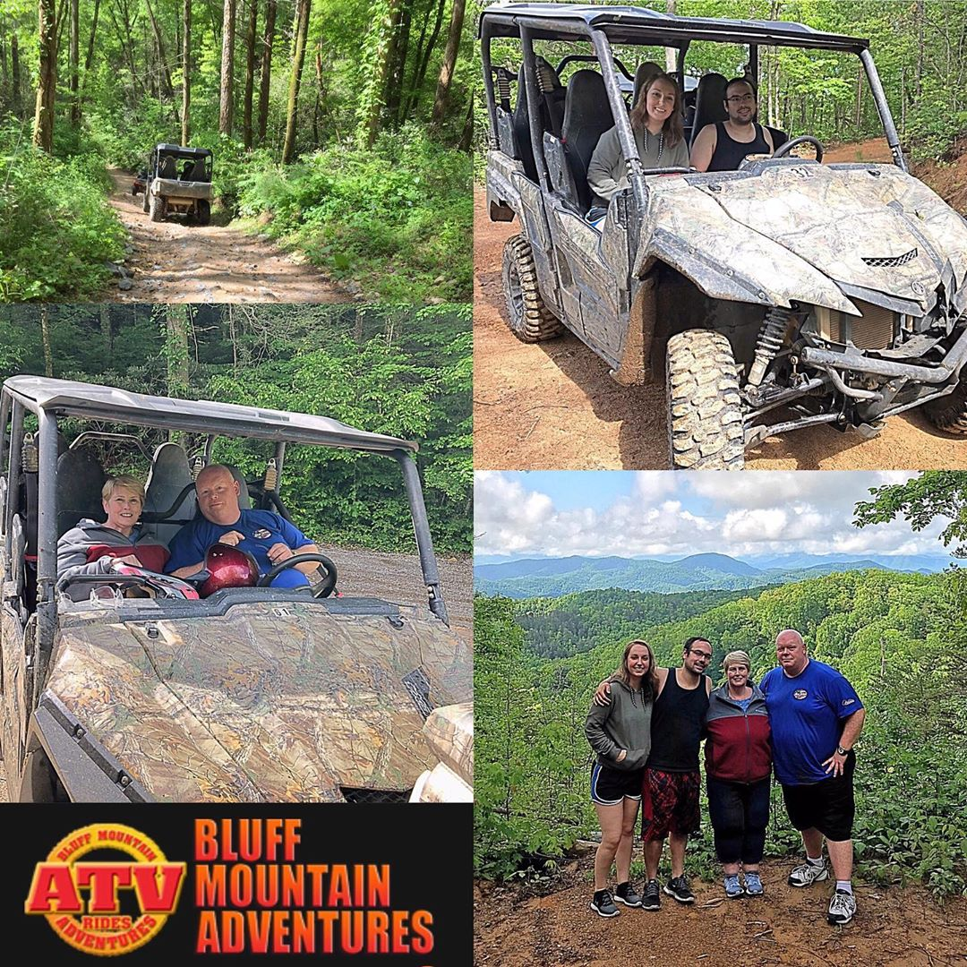 Pigeon Forge Things To Do - Bluff Mountain Adventures - Original Photo