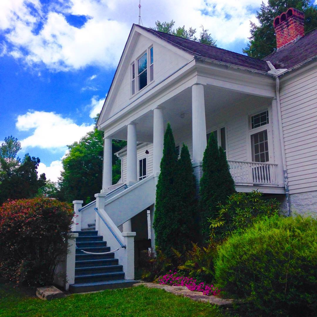 Asheville Things To Do - Carl Sandburg Home National Historic Site - Original Photo