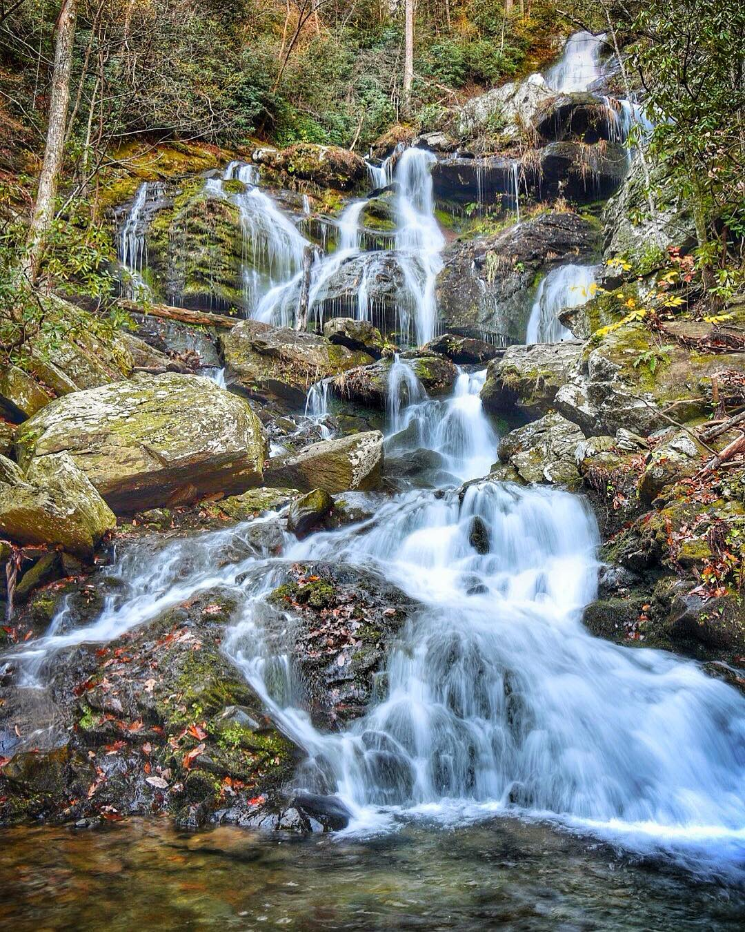 Asheville Hikes - Catawba Falls - Original Photo