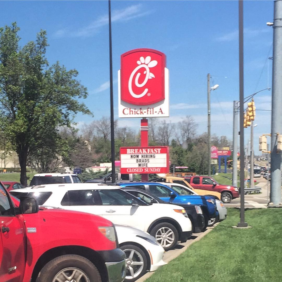 Sevierville Restaurants - Chick-fil-A - Original Photo