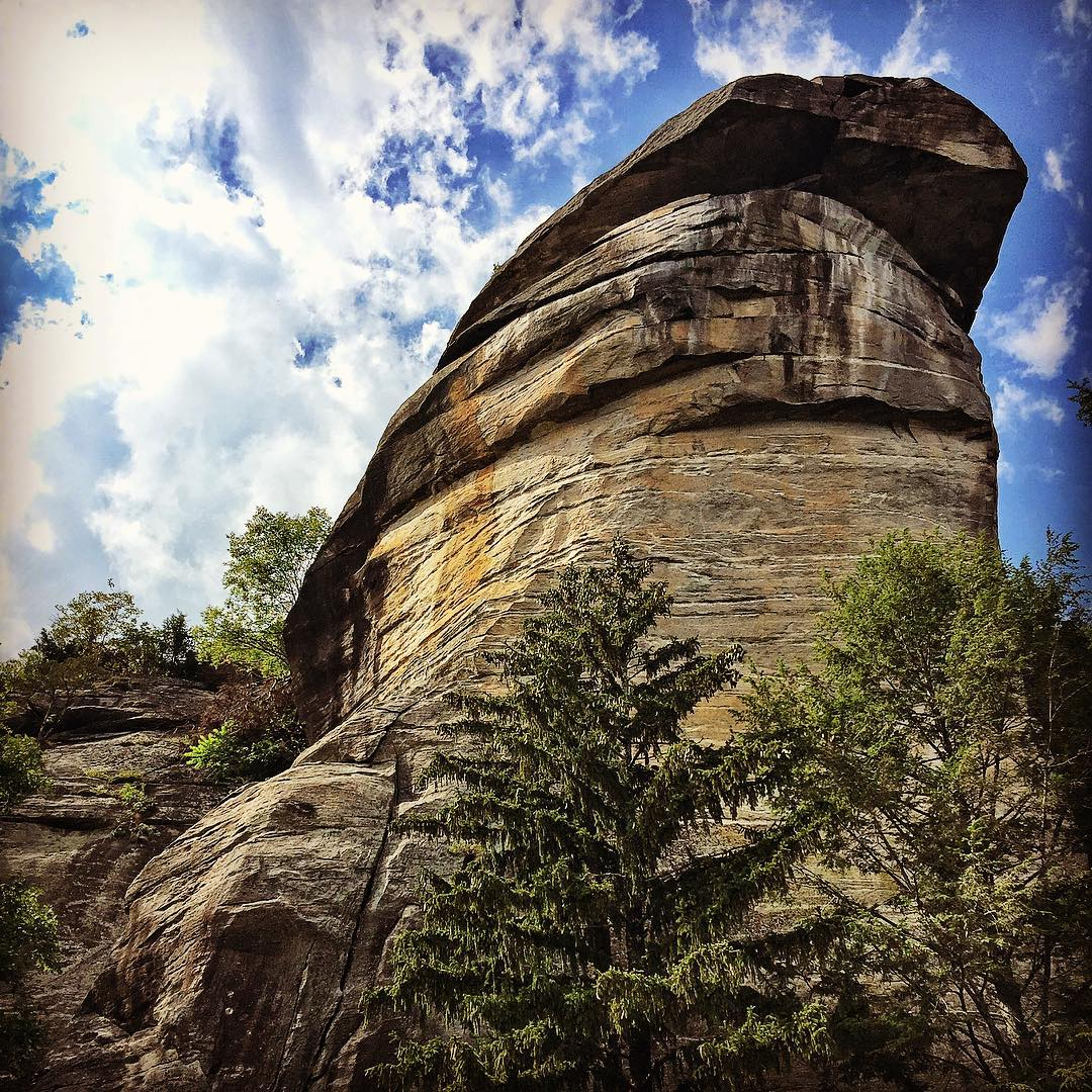Asheville Parks - Chimney Rock State Park - Original Photo