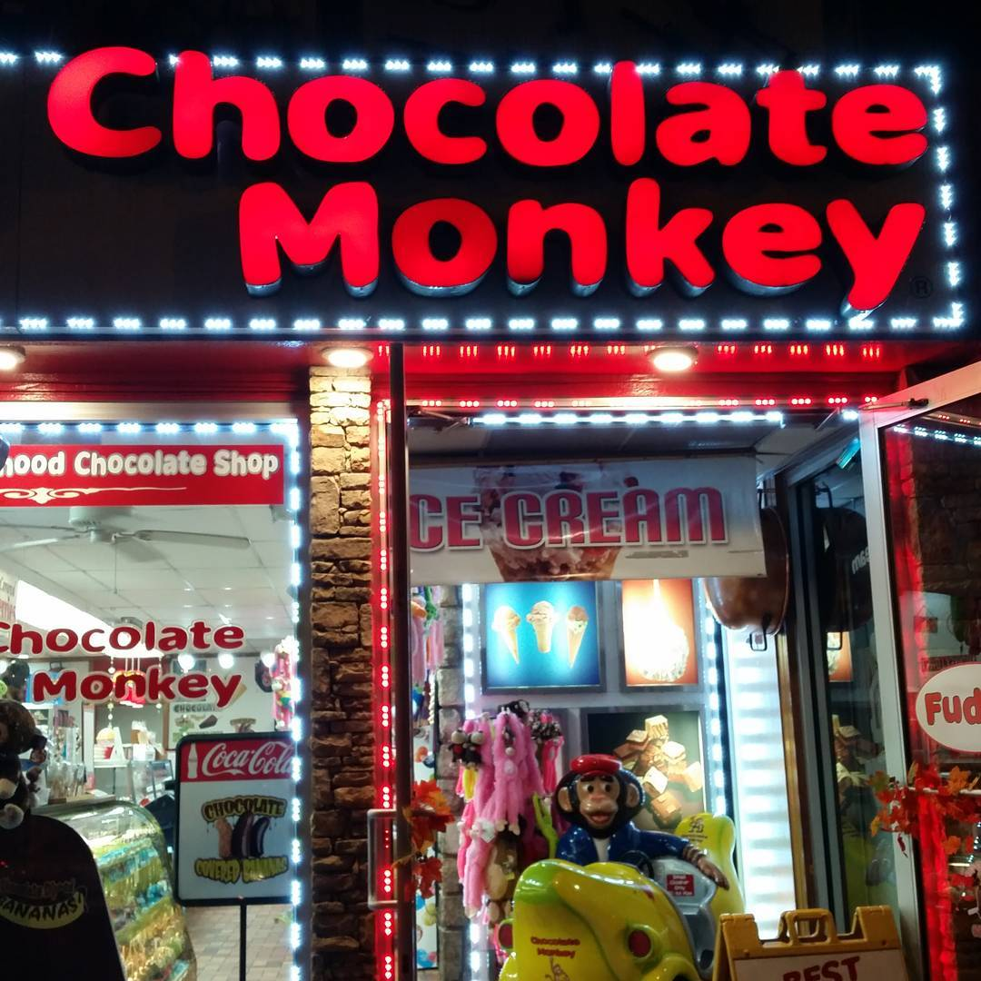 Gatlinburg Things To Do - Chocolate Monkey - Original Photo
