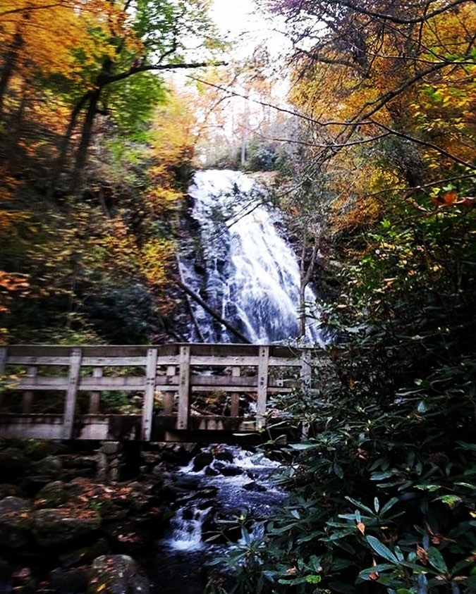Asheville Hikes - Crabtree Falls Trail - Original Photo