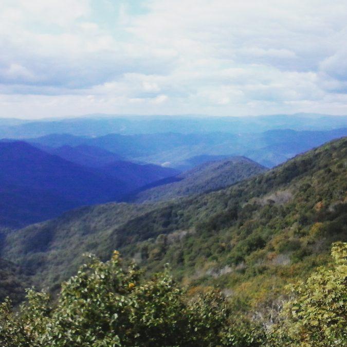 Asheville Hikes - Craggy Pinnacle Hike - Original Photo