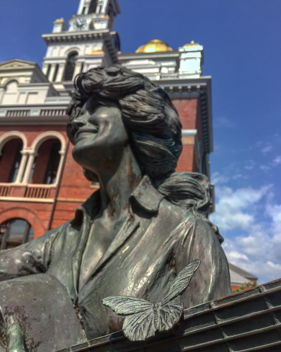 Sevierville Things To Do - Dolly Parton Statue - Original Photo