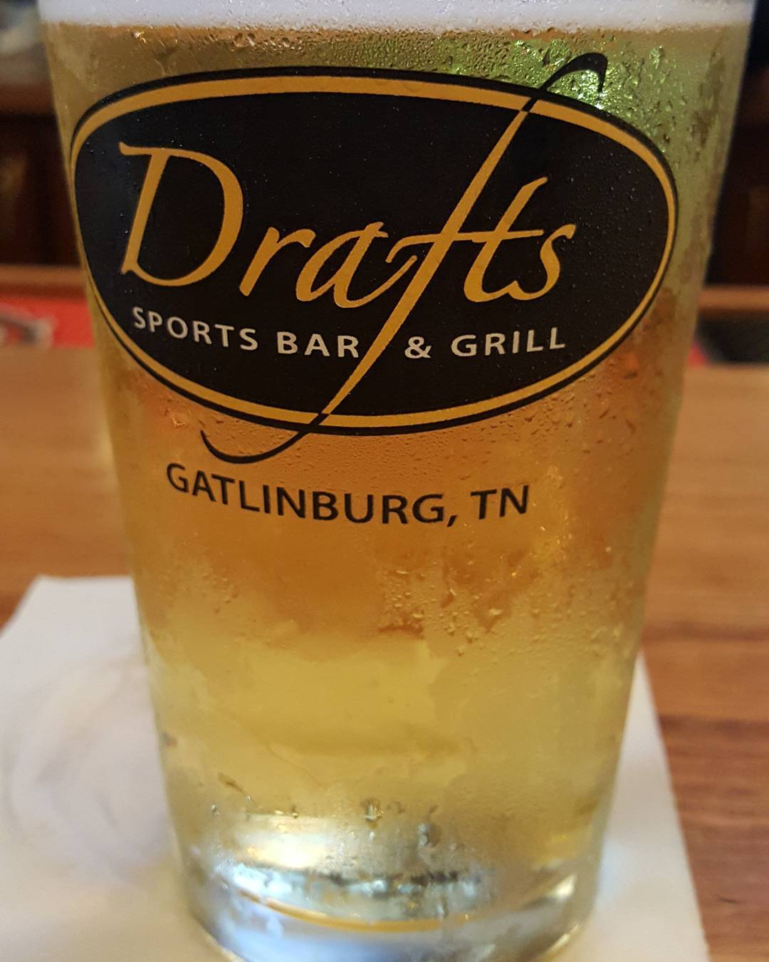 Gatlinburg Restaurants - Drafts Sports Bar & Grill - Original Photo
