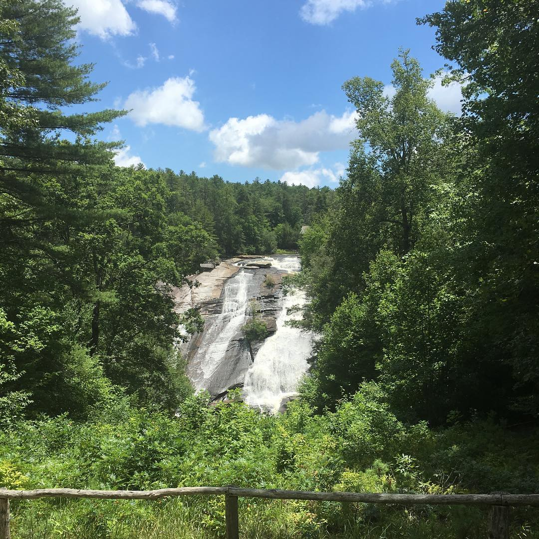 Asheville Hikes - DuPont Forest Waterfalls Hike - Original Photo