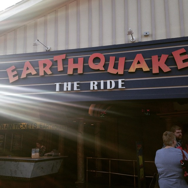 Gatlinburg Things To Do - Earthquake the Ride - Original Photo