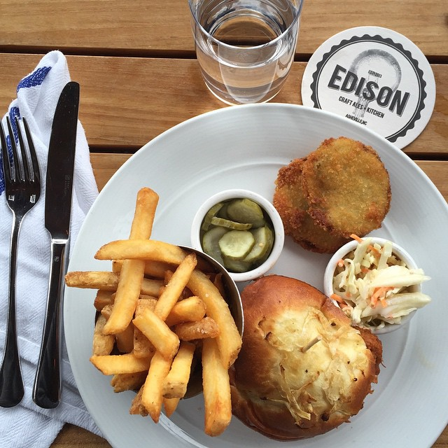 Asheville Restaurants - Edison Craft Ales + Kitchen - Original Photo
