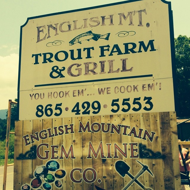 Sevierville Restaurants - English Mountain Trout Farm & Grill - Original Photo