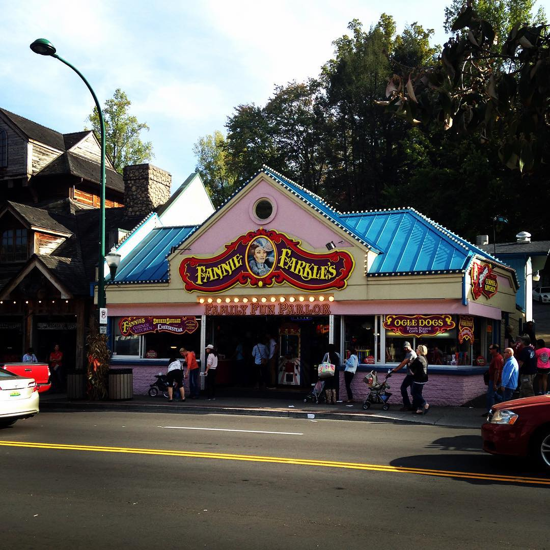 Gatlinburg Restaurants - Fannie Farkle's - Original Photo