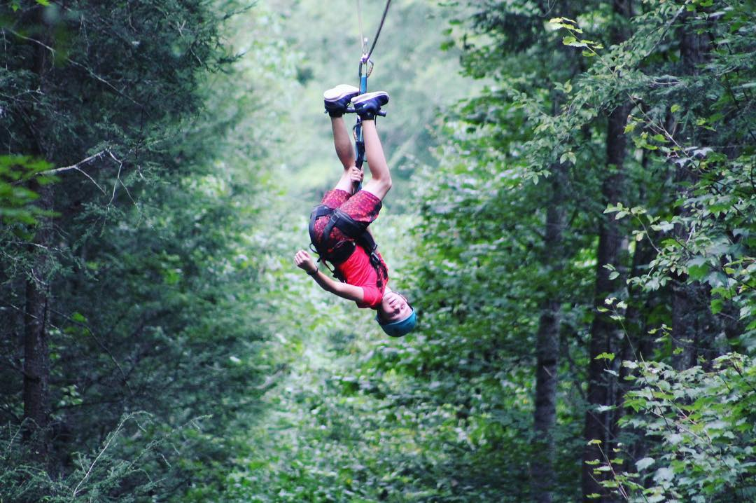 Sevierville Things To Do - Foxfire Mountain Adventure Park - Original Photo