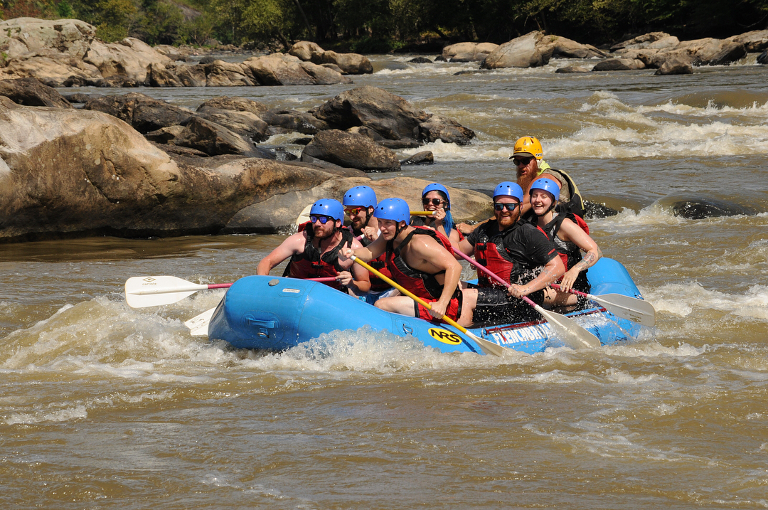 Asheville Things To Do - French Broad Adventures - Original Photo