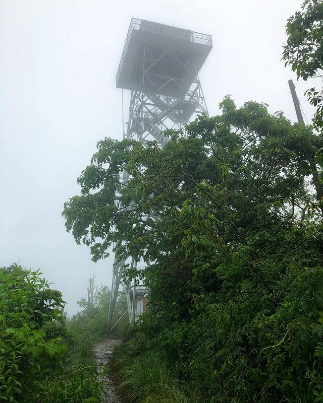 Asheville Hikes - Fryingpan Mountain Lookout Tower - Original Photo