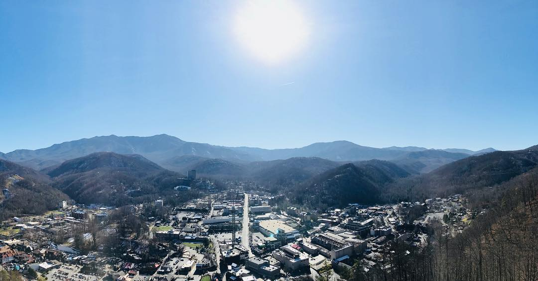 Gatlinburg Things To Do - Gatlinburg SkyLift - Original Photo