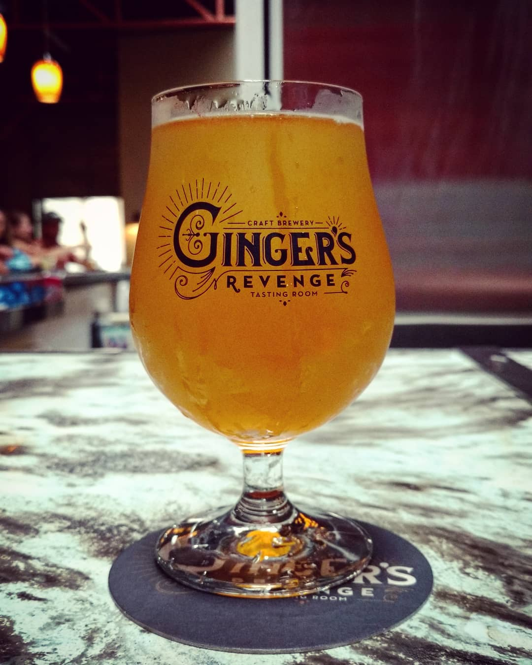 Asheville Breweries - Ginger's Revenge - Original Photo