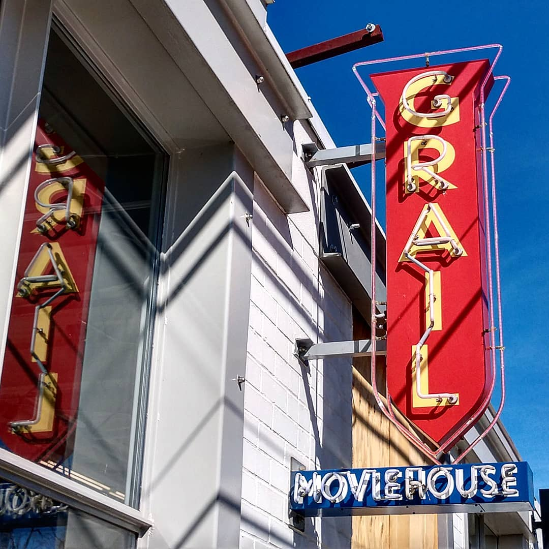 Asheville Things To Do - Grail Moviehouse - Original Photo
