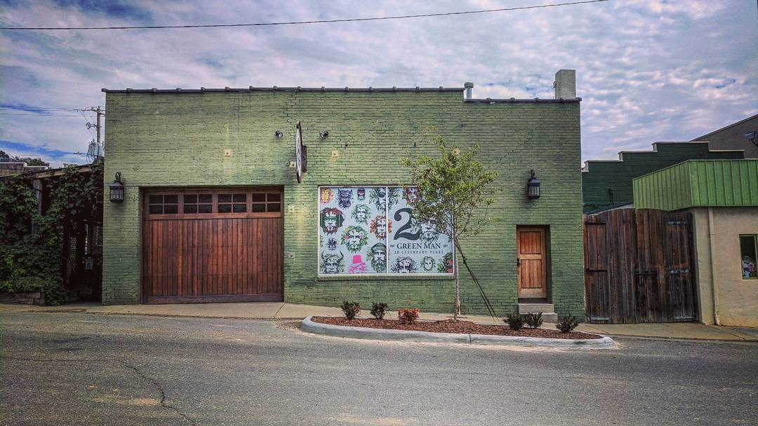 Asheville Breweries - Green Man Brewery - Original Photo