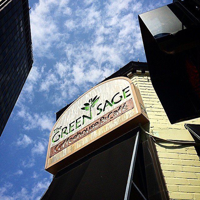 Asheville Restaurants - Green Sage Cafe (Broadway) - Original Photo