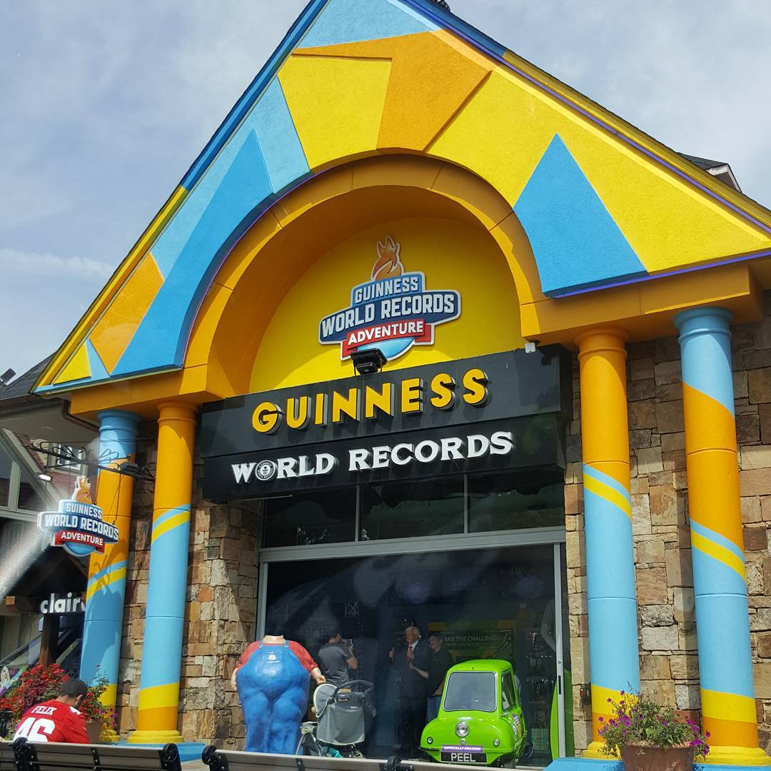 Gatlinburg Things To Do - Guinness World Records Adventure - Original Photo