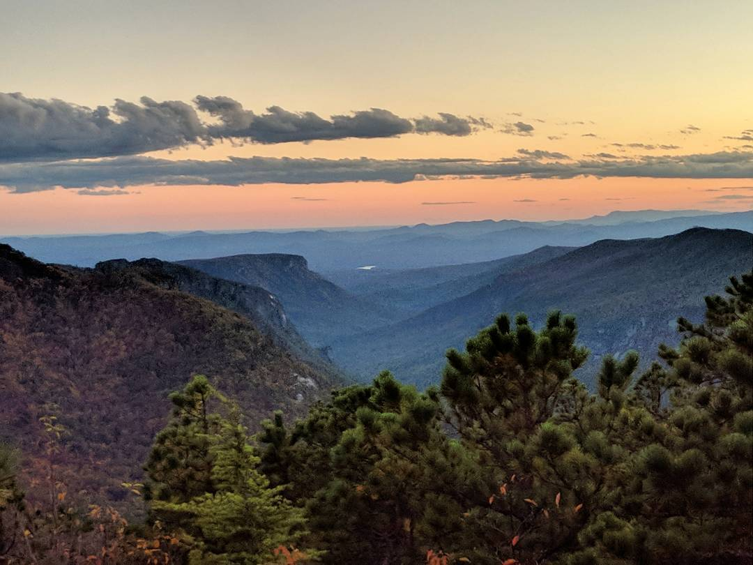 Asheville Hikes - Hawksbill Mountain - Original Photo