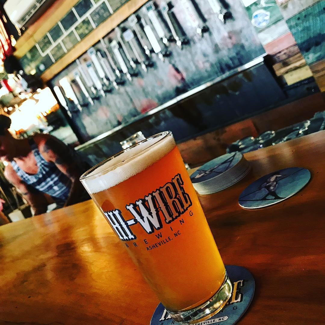 Asheville Breweries - Hi-Wire Brewing South Slope (Downtown) - Original Photo