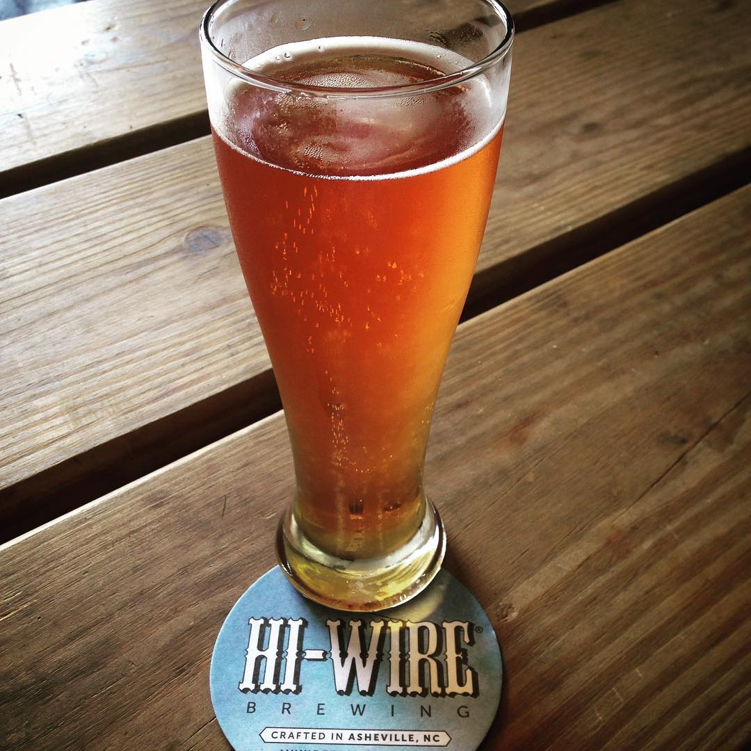 Asheville Breweries - Hi-Wire Brewing at Biltmore Village - Original Photo