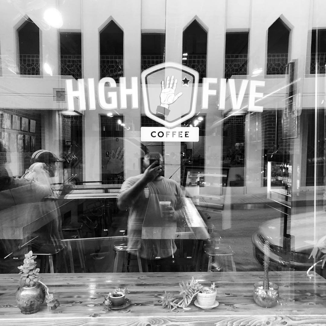 Asheville Restaurants - High Five Coffee Rankin Location - Original Photo