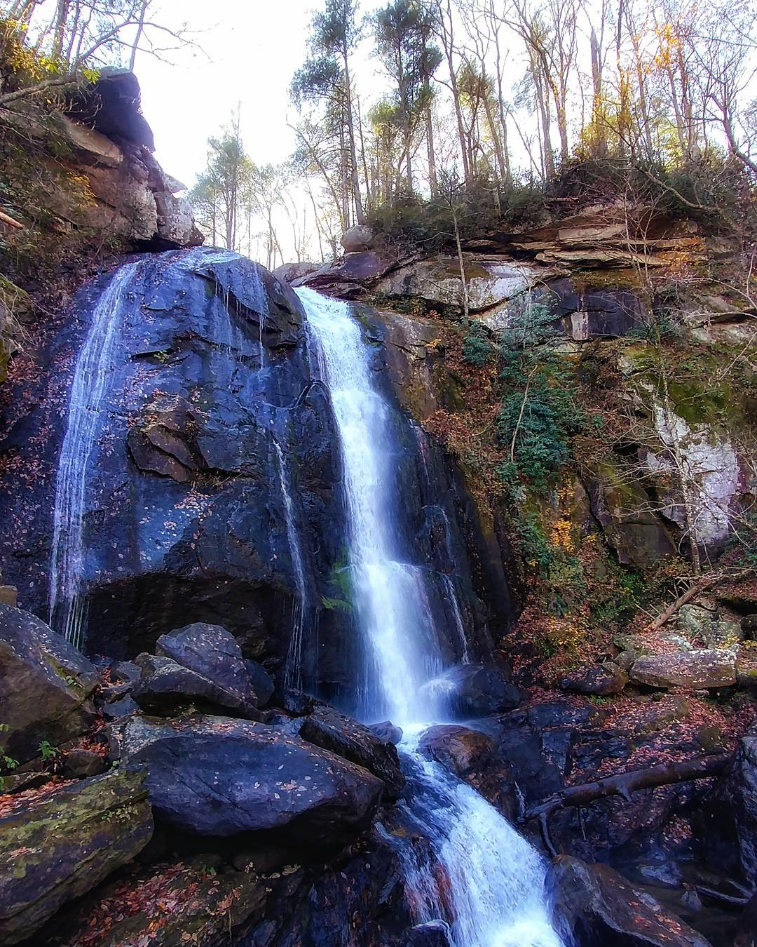 Asheville Hikes - High Shoals Falls - Original Photo