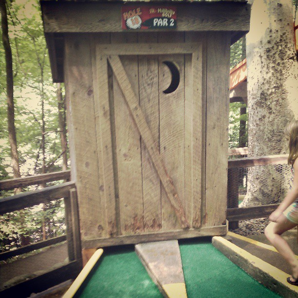Gatlinburg Things To Do - Hillbilly Golf - Original Photo