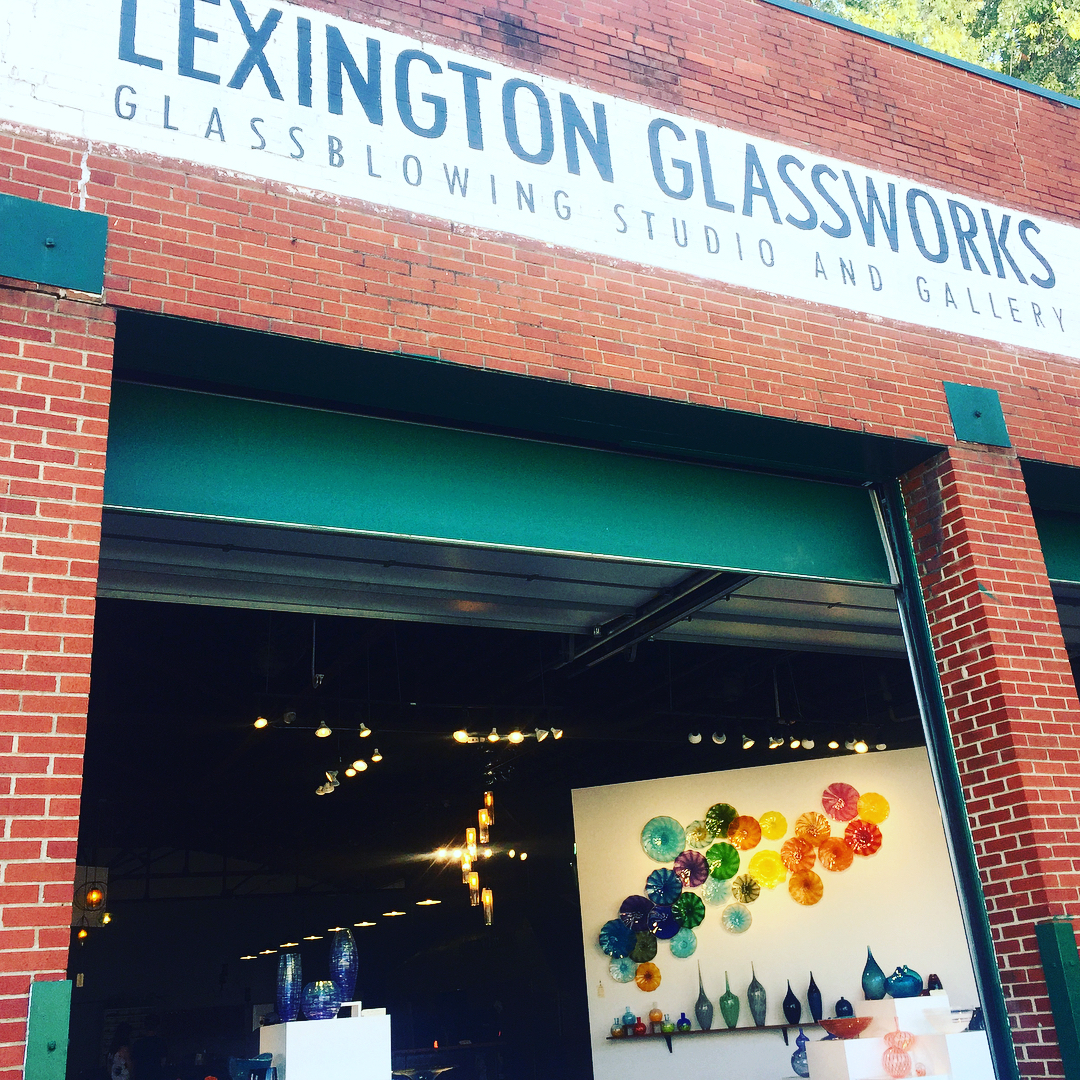 Asheville Things To Do - Lexington Glassworks - Original Photo