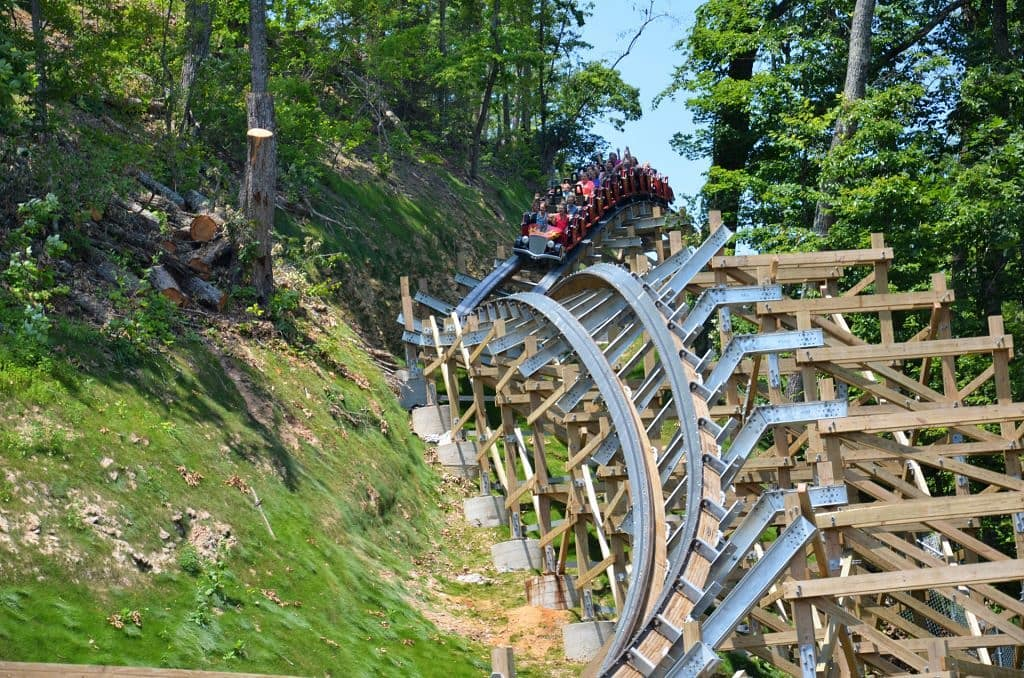 Dollywood Rides - Lightning Rod - Original Photo