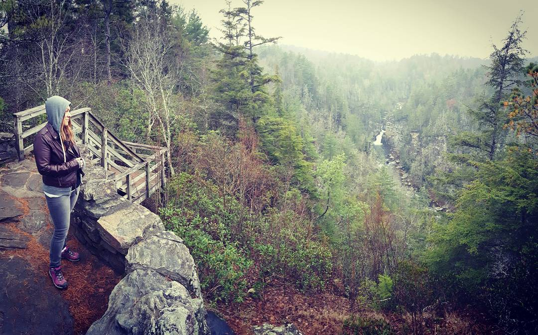 Asheville Hikes - Linville Falls Trail - Original Photo