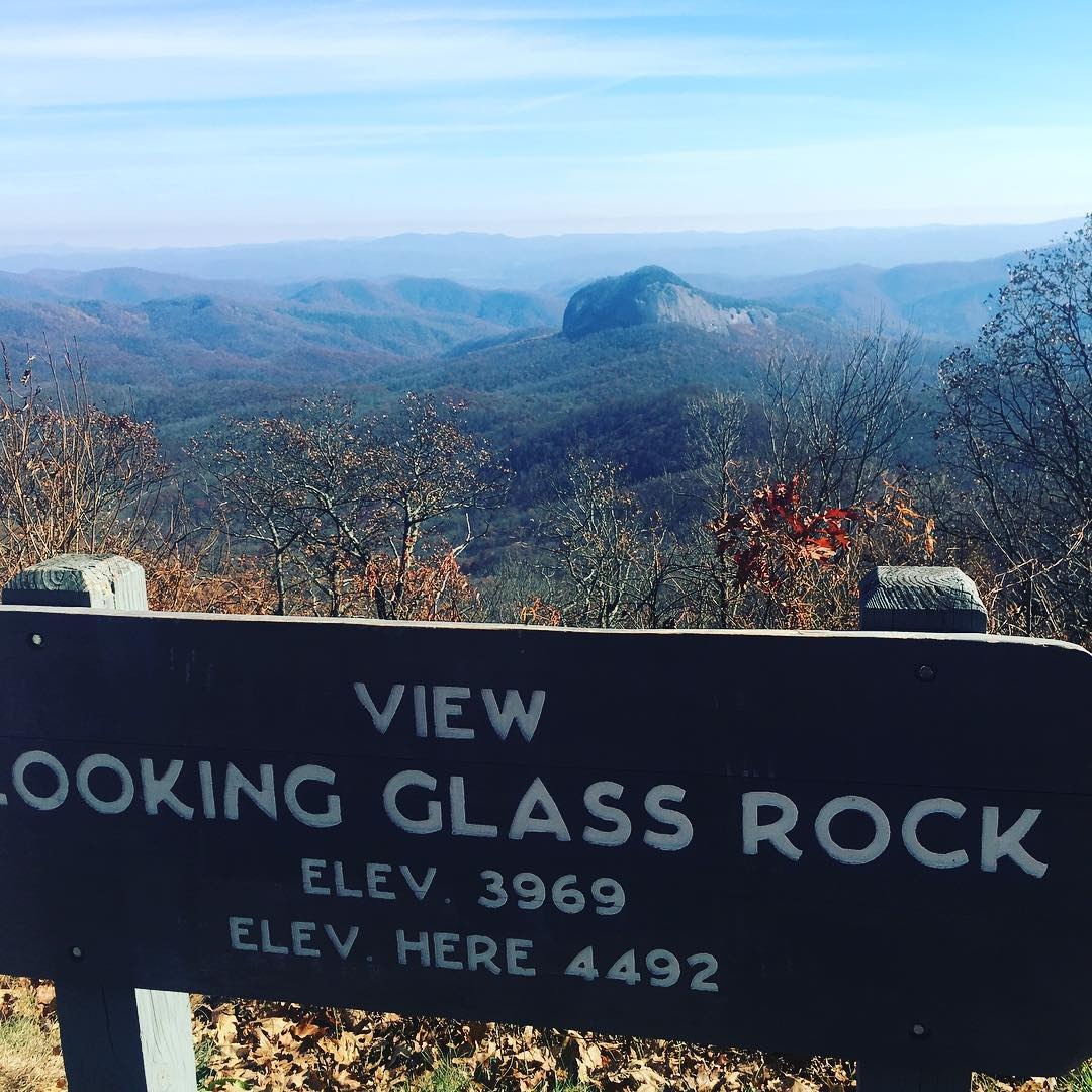 Asheville Hikes - Looking Glass Rock Hike - Original Photo