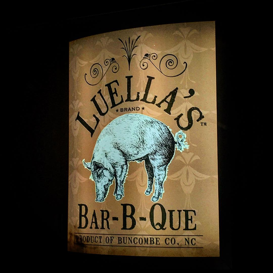 Asheville Restaurants - Luella's Bar-B-Que North - Original Photo