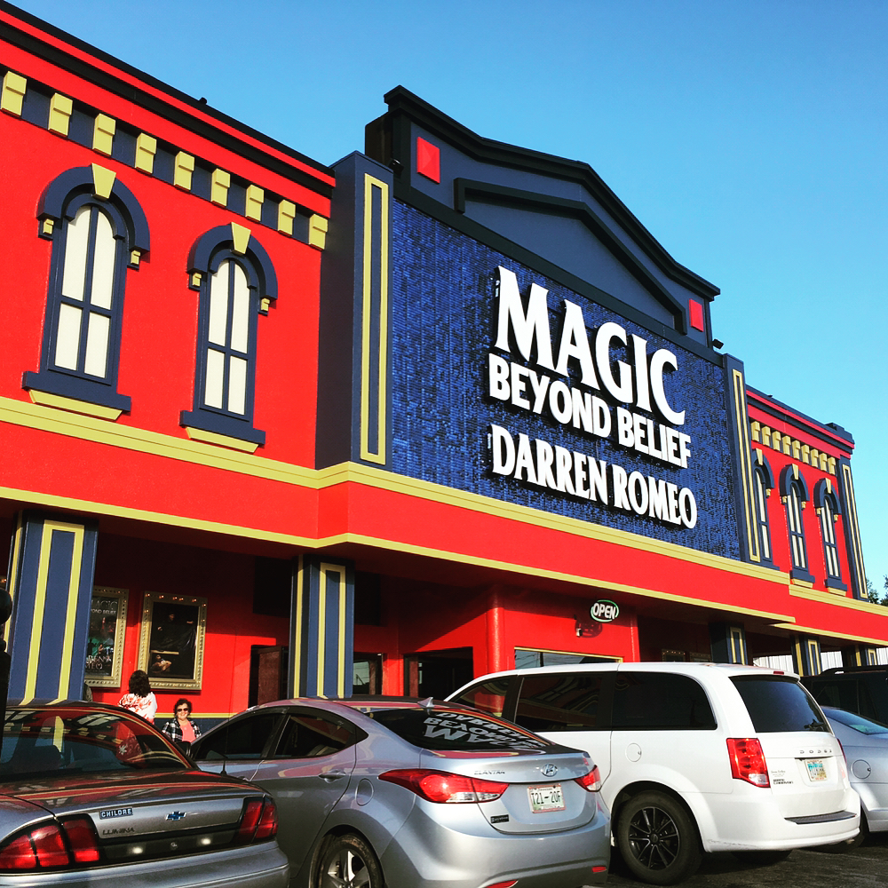 Pigeon Forge Things To Do - Magic Beyond Belief - Original Photo