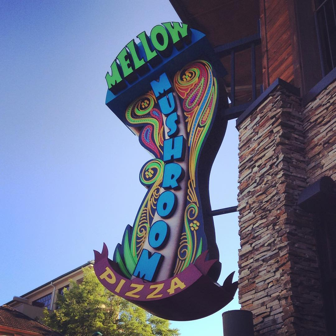 Gatlinburg Restaurants - Mellow Mushroom - Original Photo