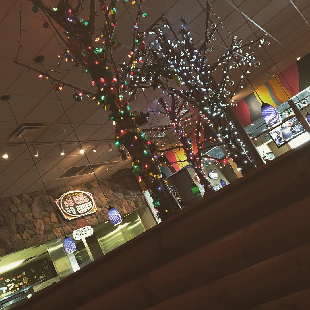 Pigeon Forge Restaurants - Mellow Mushroom at Christmas Place - Original Photo