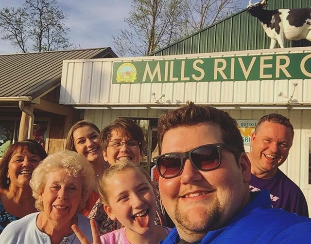 Asheville Things To Do - Mills River Creamery - Original Photo