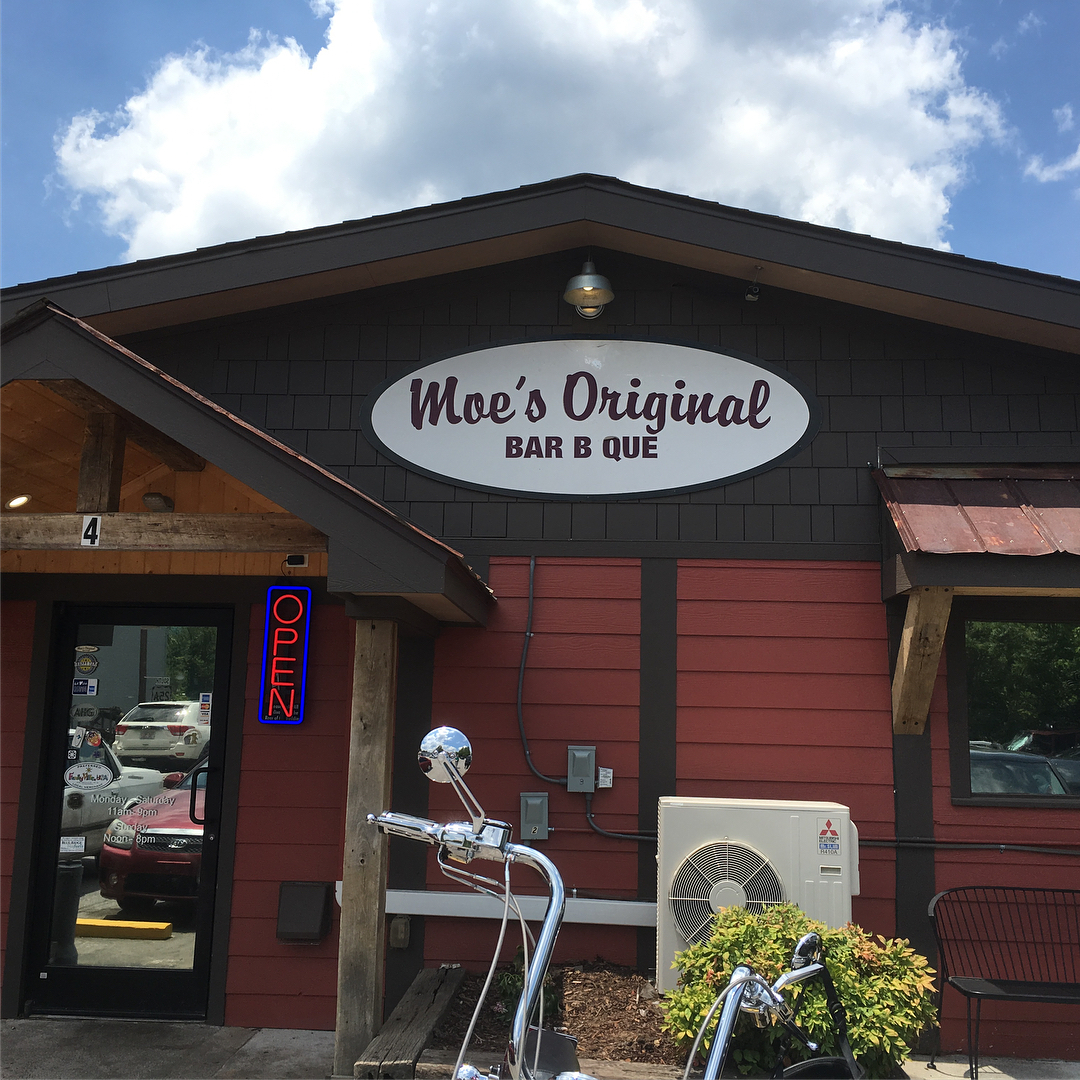Asheville Restaurants - Moe's Original BBQ - Original Photo