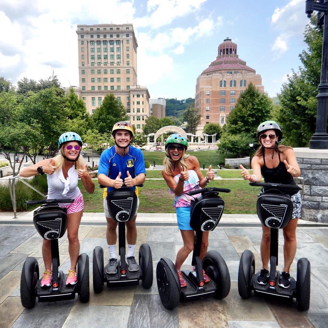 Asheville Things To Do - Moving Sidewalk Tours – Segway - Original Photo