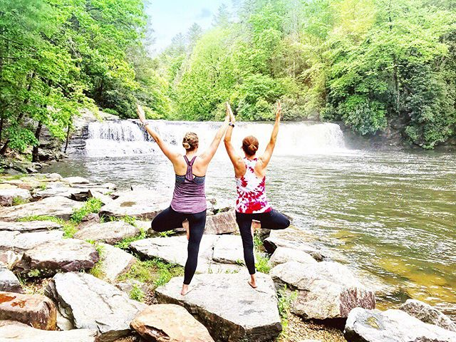 Asheville Things To Do - Namaste in Nature - Original Photo