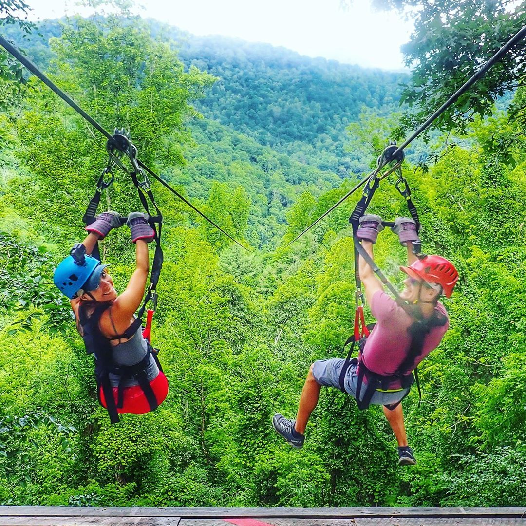 Asheville Things To Do - Navitat Canopy Adventures - Original Photo