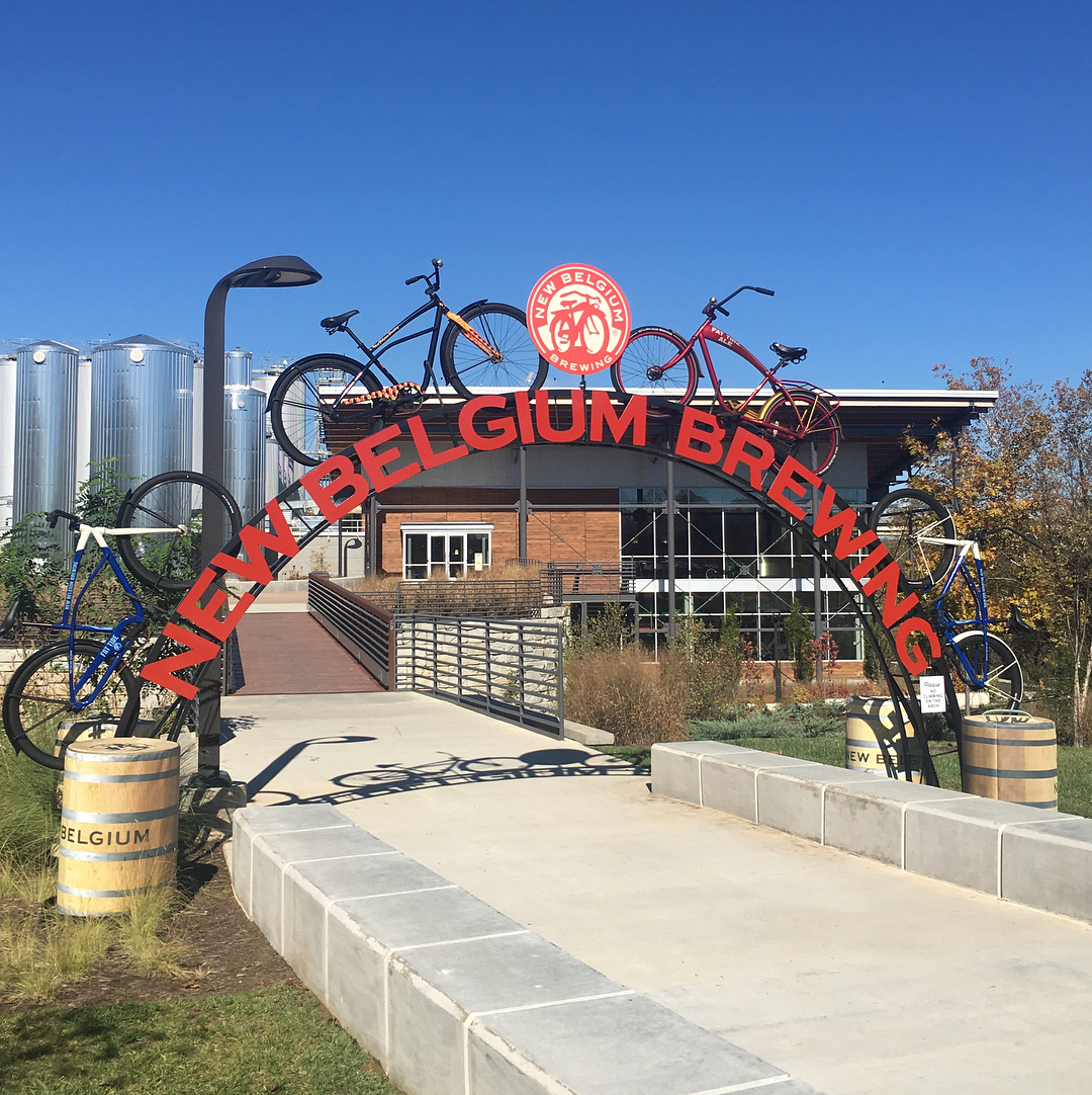 Asheville Breweries - New Belgium Brewing Company - Original Photo