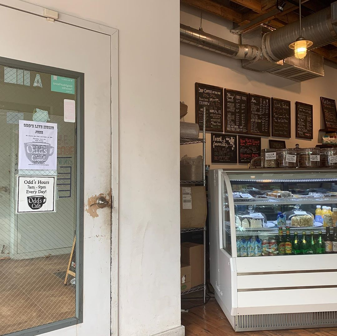 Asheville Restaurants - Odd's Cafe - Original Photo
