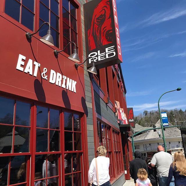 Gatlinburg Restaurants - Ole Red - Original Photo